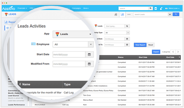 generate instant reports