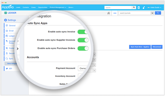 integration with xero